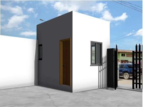 on-going project. Renovation of two story building