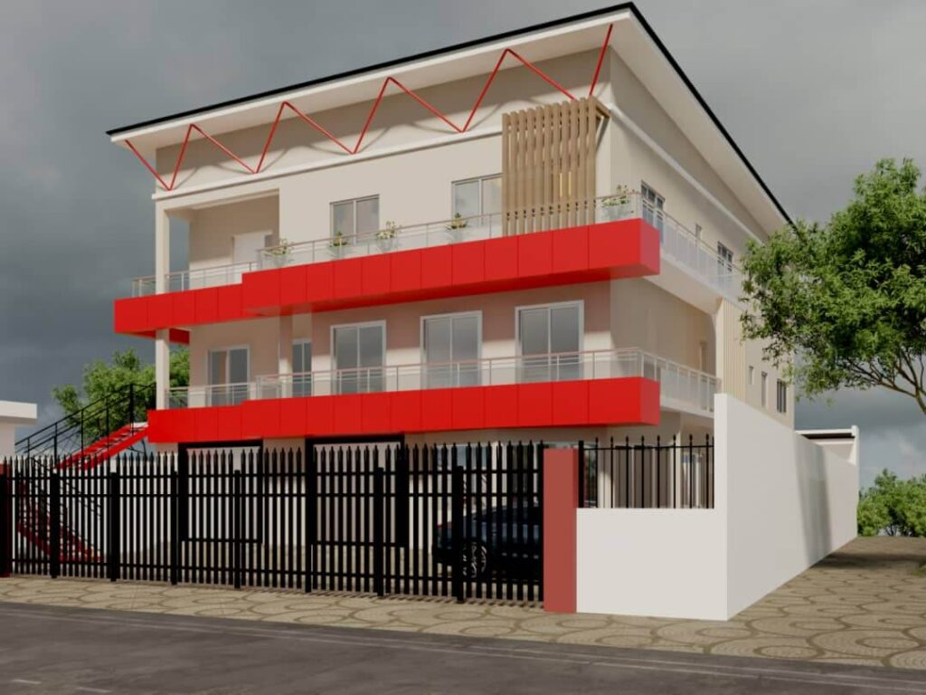 Renovation of two story building by Samanate construction
